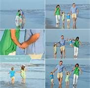 what to wear for family pictures on the beach - Like the color palate