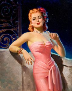 Art Frahm ..and then ..hold that string of pearls away from your neck  …