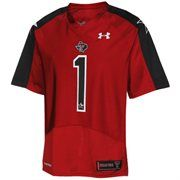 Under Armour Texas Tech Red Raiders #1 2012 Pride Game Replica Jersey - Scarlet