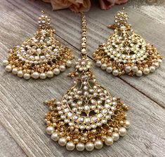 Etsy store with affordable costume jewelry sets for South Asian formal events. Costume Jewelry Sets, Etsy Store, Events, Asian, Pearls, Formal, Earrings, Preppy, Ear Rings