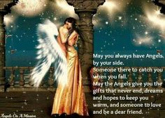 May you always have Angels...  I pray that they keep you safe little one!