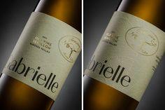 Teusner 'Gabrielle' Old Vine Semillon — The Dieline - Branding & Packaging