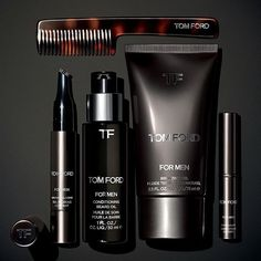 WEBSTA @ tomford - Introduce the most important gentleman in your life to the TOM FORD for Men Skincare and Grooming collection. #TOMFORD #TFFORMEN #TFGIFTS