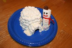 Kick cabin fever with snowmen and marshmallows