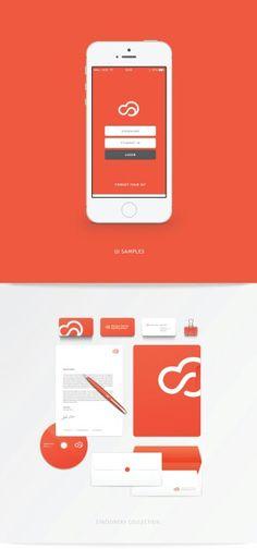 Orange concept