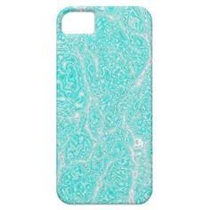 Iphone 5 case - Aqua extreme - Glitter