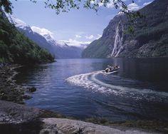 Seven Sister Waterfall in Norway