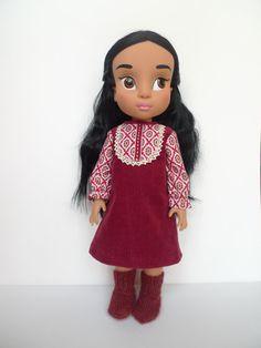 Disney animator dolls dress and socks. by Hillyrags on Etsy