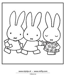 Miffy And Friends Coloring Pages