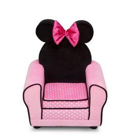 SILLÓN TAPIZADO INFANTIL MINNIE ROSA. UP85724MN, IndalChess.com Tienda de juguetes online y juegos de jardin