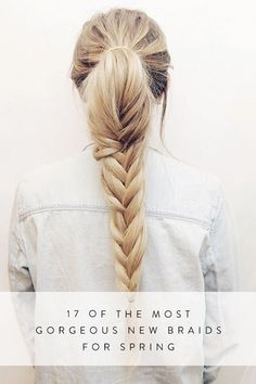 17 of the most gorgeous new braids for spring purewow ad hair style beauty boxer braids paso a paso claire s boxer braids hair tools kit boxer braids paso a paso Spring Hairstyles, Braided Hairstyles, Cool Hairstyles, Hairstyle Ideas, Hair Ideas, Easy Hairstyle, Hairdos, New Braid Styles, Long Hair Styles