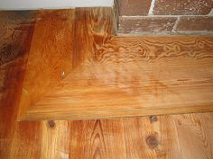 Step by step - how to install antique heart pine flooring #diy #flooring