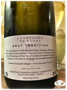 De Lozey Brut Tradition Champagne, France - Social Vignerons