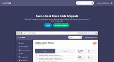 Share and store code snippets. Collaborate with other developers using this free code sharing service. Free for public open-source code.