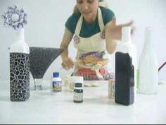 Artesanato Fradelli 5 -Reciclagem de Garrafas