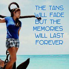 Who cares if th tan fade away frnds bt let's enjoy dem good memories we made.