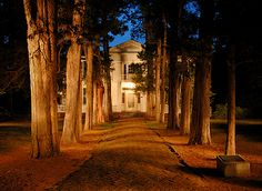 Rowan Oak, home of William Faulkner in Oxford, Mississippi. (Book club field trip?)