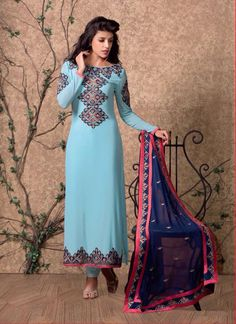 Link: http://www.areedahfashion.com/salwar-kameez&catalogs=ed-3675 Price range INR 3,560 Shipped worldwide within 7 days. Lowest price guaranteed