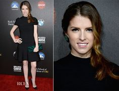 Anna Kendrick In Hervé Léger by Max Azria – 2nd Annual Rebels With A Cause Gala