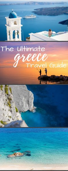 The ultimate Greece travel guide. Including the best things to do and where to go. From Santorini, Mykonos, Athens, Crete, Corfu, and many other Greek islands and beaches this guide has it all. Food, transport, and honeymoon ideas as well.