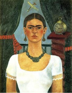 Self-Portrait 4, Oil by Frida Kahlo (1907-1954, Mexico)