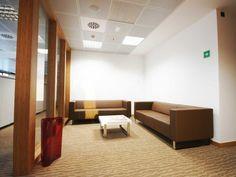 Sala de espera oficinas centrales SB Hotels. Decoración Alado