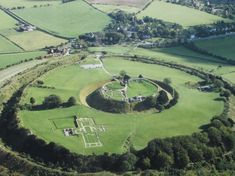 Old Sarum is one of the oldest settlements in England and has been inhabited since 3000 BC. At the very centre was an Iron Age fort, which has been used by Romans, Saxons, Vikings and the Normans.26