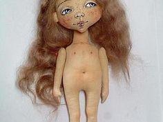 Шьем очаровательную куколку (выкройка прилагается). Ярмарка Мастеров - ручная работа, handmade.