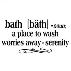 Bath Quotes Mesmerizing Soak Your Troubles Away Bath Bathroom Wall Saying Quote Design Decal