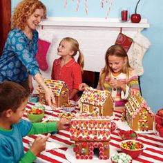 how to gingerbread party