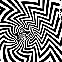 gif animation in op art style