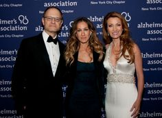"""David Hyde Pierce, Sarah Jessica Parker & Jane Seymour at the NY """"Forget-me-Not"""" gala"""