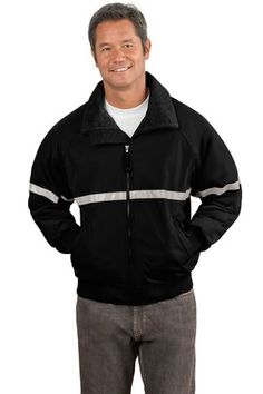 Port Authority® J754R Challenger™ Jacket with Reflective Taping #portauthority #reflectivetaping