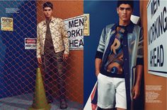Torin Verdone is front and center for a Shxpir lensed fashion editorial from L'Optimum Thailand.