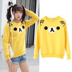 www.sanrense.com - Cute cartoon fleece sweatshirt SE9436