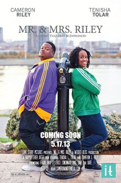 Movie Poster Save The Date Coming Soon Poster by InvitedToo