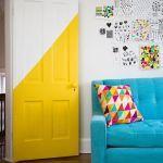¿Qué es el half paint? Post donde se explica en qué consiste esta técnica del #halfpaint #MWMaterialsWorld #pinturadecorativa