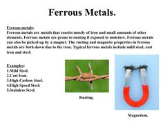 #Ferrous metals and alloys are iron-based materials that are used in a wide variety of industrial applications.  Find out more at http://www.amsmetal.com.my/