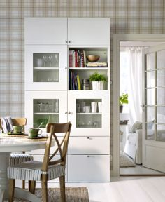 Dining Storage That Works! Use The Space From Floor To Ceiling With A  Custom BESTÅ
