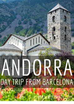 Un día de viaje a Andorra de Barcelona