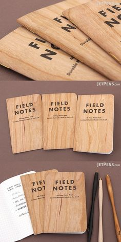 Record notes, ideas, and to-do lists in these stylish and convenient Field Notes pocket memo books. Stationery Companies, Note Memo, Jet Pens, Field Notes, Made In America, Illinois, Wisconsin, Stationary, Cherry