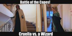 Oh those capes on the Bachelor finale lol