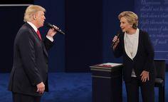 """Já imaginou Donald Trump e Hillary Clinton no filme """"Dirty Dancing""""? Com base nas imagens do debate, o site Dutch criou um """"dueto"""" entre os dois candidatos à Casa Branca."""