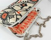 Gorgeous bags from vintage kimono fabrics.