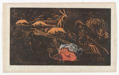 Paul Gauguin. L'Univers est crée (Creation of the Universe) from Noa Noa (Fragrance). 1893–1894, printed c. 1894