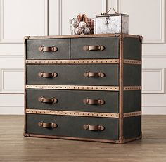 Voyager Steamer Dresser | Dressers | Restoration Hardware Baby & Child