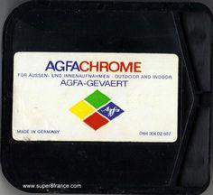 Développement et numérisation de ce chargeur Super 8 Agfachrome peut s'effectuer chez SUPER8FRANCE