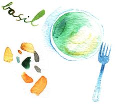 food illustration   meta wraber