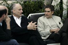David Chase with Michael Imperioli