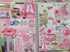Creating a page all about pink